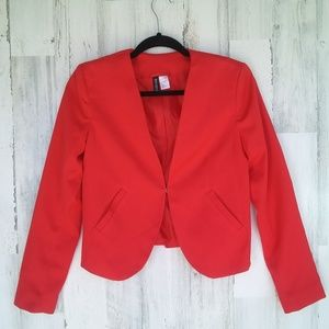 Divided By H&M Red Blazer